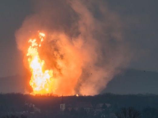 La grave esplosione in un gasdotto in Austria