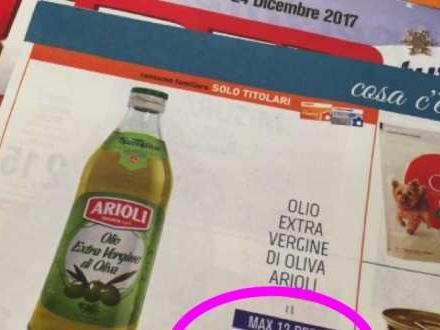 Olio extra vergine di oliva a 2,99 €/l, come è possibile? Teatro Naturale si interroga sulle incredibili offerte dei supermercati e sulla qualità del prodotto