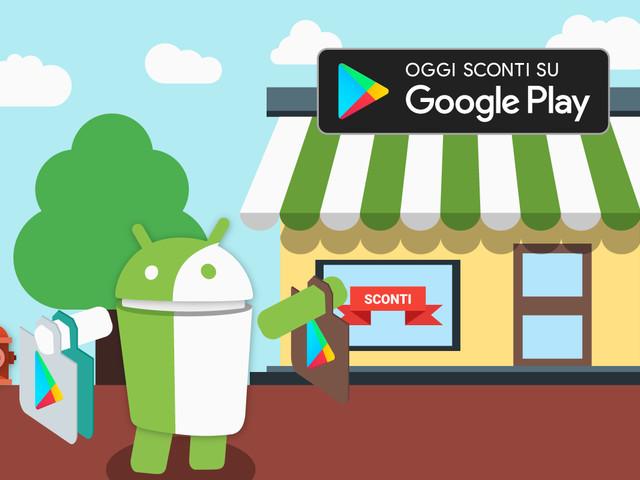 Il Play Store ci propone oggi un piatto ricco di offerte su app e giochi Android