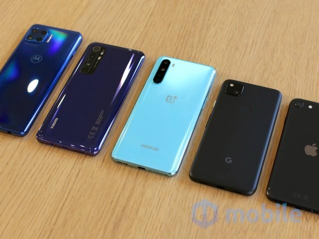 Confronto medio gamma 2020: OnePlus, Pixel, iPhone, Motorola e Xiaomi (foto e video)