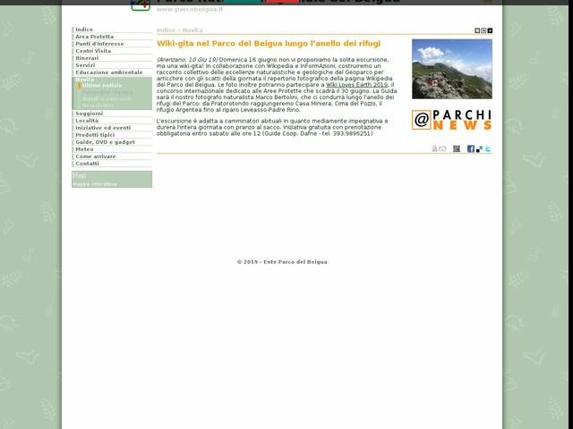 PR Beigua - Wiki-gita nel Parco del Beigua lungo l'anello dei rifugi