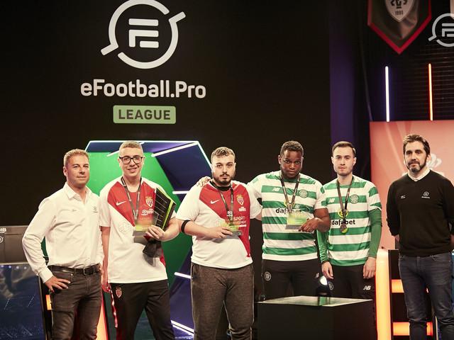 Konami ed EFootball.pro annunciano i campioni della finale del primo campionato