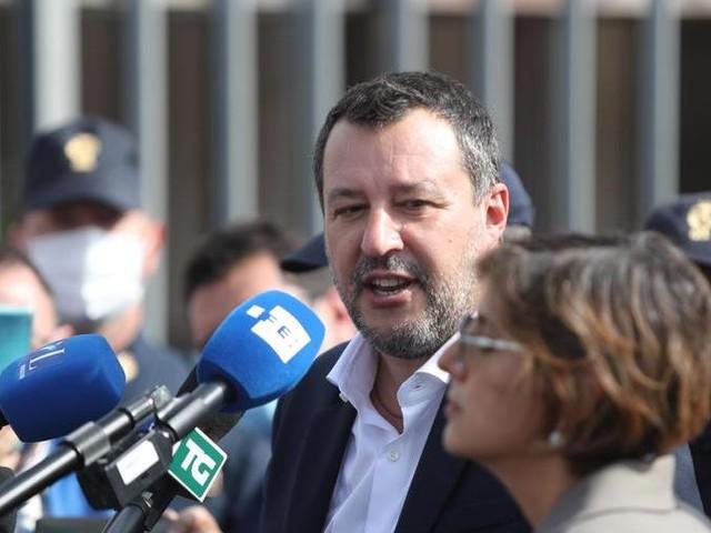 """Manovra, Salvini: """"No a un intervento a gamba tesa sulle pensioni, ho chiesto un incontro a Draghi"""""""