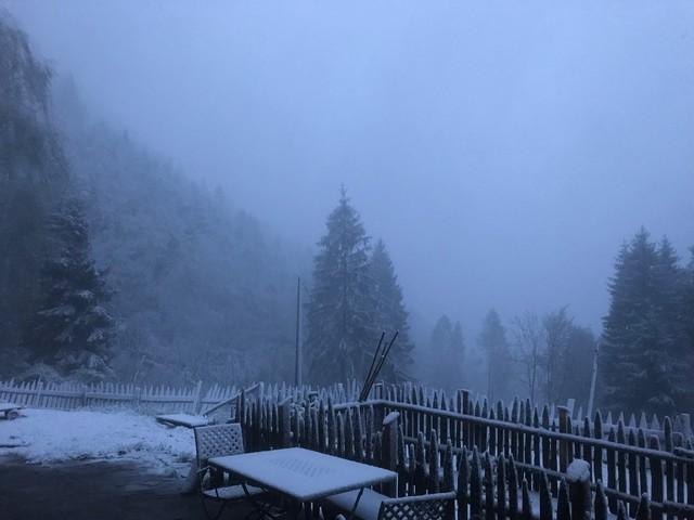 La perturbazione artica è arrivata anche in Trentino