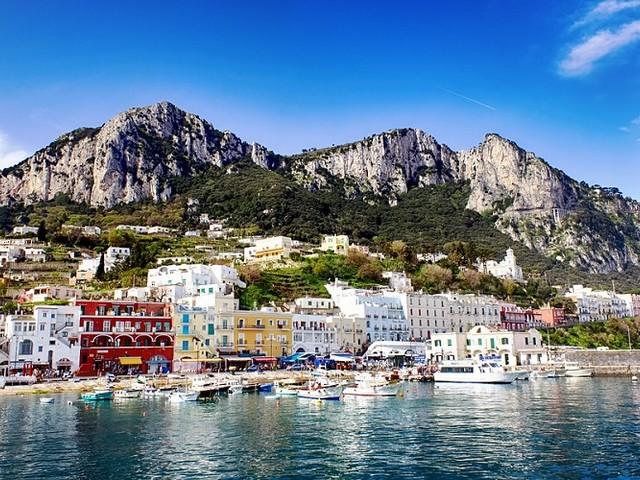 Grandi attese a Capri per Pasqua, nonostante il terrorismo meteorologico