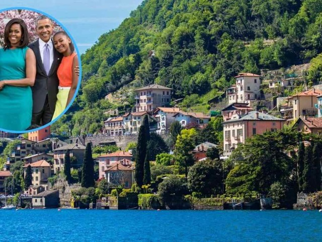 Gli Obama sul lago di Como, alla scoperta di Laglio