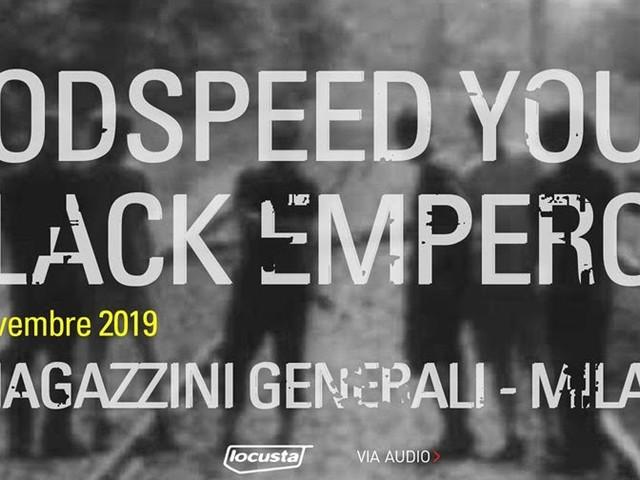 GY!BE ai Magazzini Generali di Milano