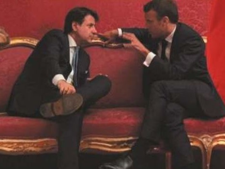 Conte vede Macron E Di Maio scarica la manovra sulla Lega