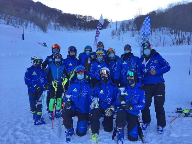 Sci: 5 giovani campioni imperiesi si qualificano alle finali regionali Piemonte della Alpe Cimbra Fis Children Cup