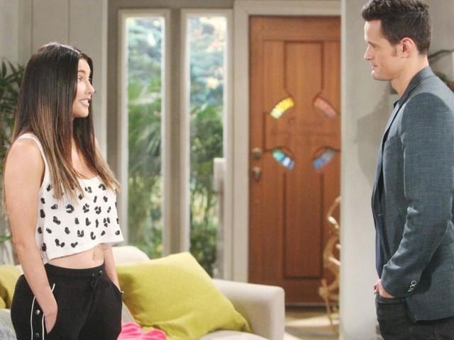 Beautiful, anticipazioni puntate americane: Brooke spingerà Thomas dal dirupo ma si salva