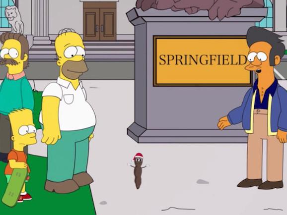 South Park contro I Simpson (ancora per colpa di Apu) - Video