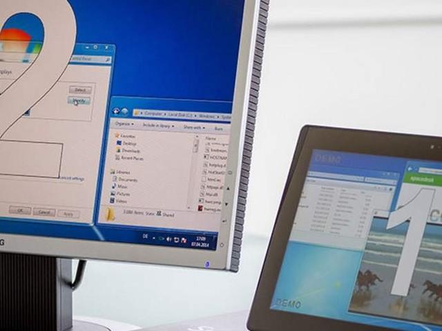 Schermo del tablet (Android o Windows) come secondo monitor del PC