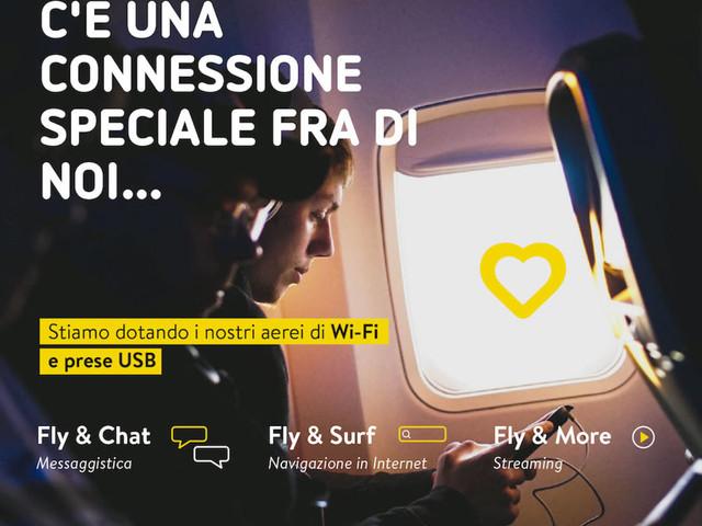 Arriva il WiFi sui voli Vueling: prezzo e come funziona