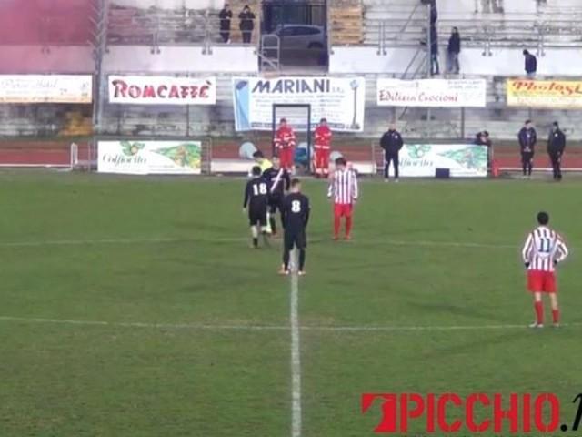 """L'Aurora Treia si impone sul Portorecanati: al """"Monaldi"""" finisce 1-3"""
