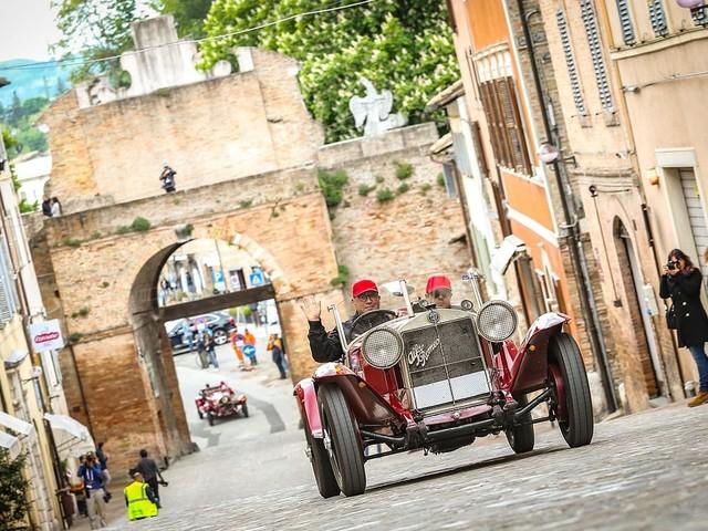 Mille Miglia 2019 - Vincono Moceri e Bonetti sullAlfa Romeo 6C 1500 SS