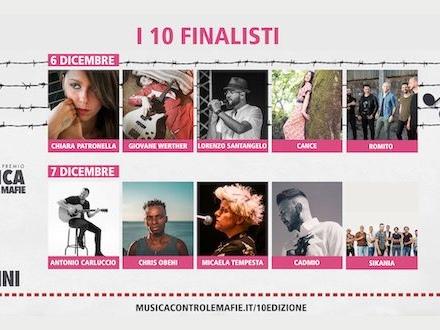 Musica Contro le Mafie 2019: i finalisti