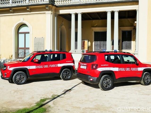 Jeep - Due nuove Renegade per i Vigili del Fuoco