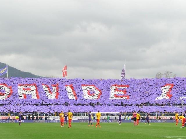 Fiorentina, contro l'Atalanta coreografia speciale per ricordare Astori ad un anno dalla morte