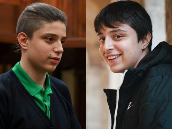 Luca Zigliana prima e dopo Il collegio 5: com'era lo studente con l'originale codino