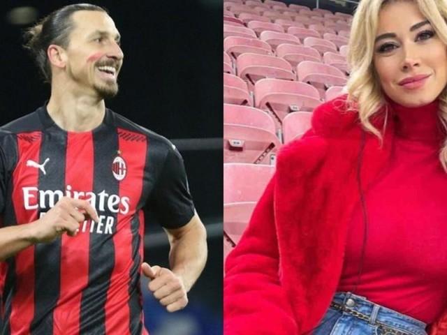 Ibrahimovic insieme a Diletta Leotta a Capodanno: il gossip impazza