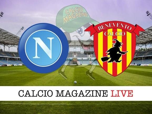 Napoli – Benevento: cronaca diretta live, risultato in tempo reale