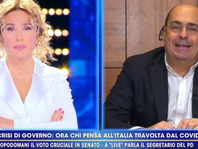 """Crisi di governo, Zingaretti: """"Il 90% degli italiani non ha capito Renzi"""""""