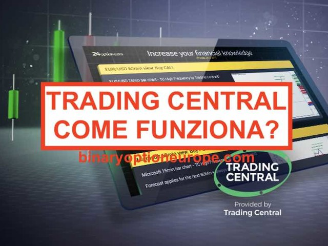 24option Trading Central: come funziona analisi e notifiche Metatrader [2019]