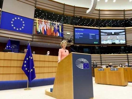 Discorso sullo stato dell'Unione, Ursula Von der Leyen: «Taglio delle emissioni Ue del 55%»