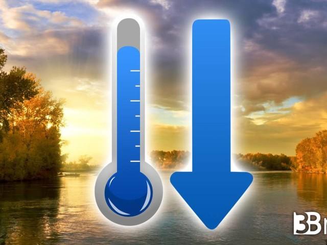 Meteo > Clima PIU' FREDDO soprattutto di SERA, aggiornamenti TEMPERATURE e MAPPE