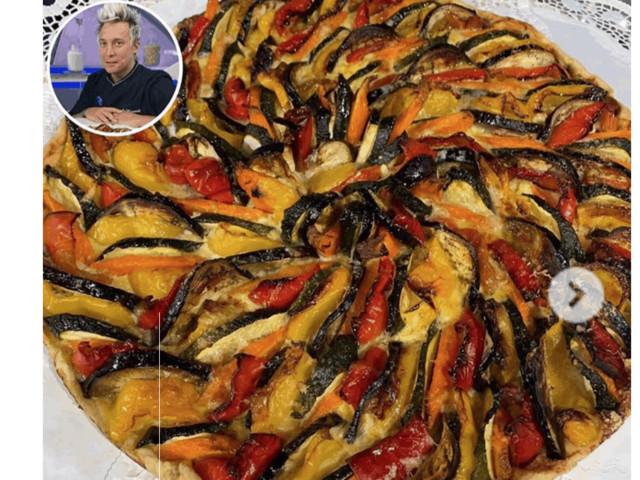 La ricetta di Andrea Mainardi della torta rustica a Detto Fatto