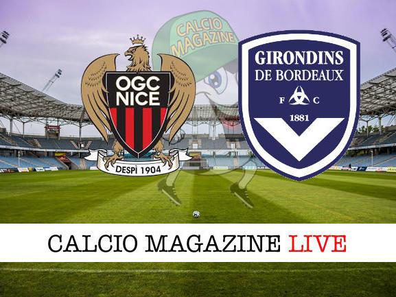 Ligue 1, Nizza – Bordeaux 0-3: diretta live, risultato in tempo reale