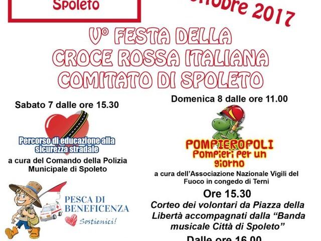 A Spoleto la 5° edizione della Festa della Croce Rossa Italiana