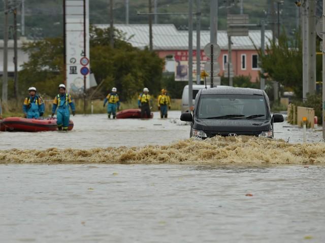 Il Tifone Hagibis si lascia dietro morte e distruzione: almeno 70 morti in Giappone, quasi 150 frane e 50 fiumi esondati