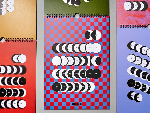 Lunario 2020, il calendario ispirato alla Luna. Tra illustrazione e graphic design