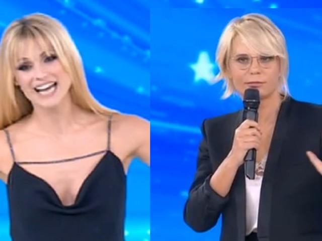 Michelle Hunziker debutta ad Amici Celebrities, ma al web manca Maria De Filippi