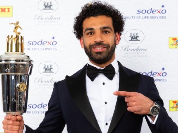 Roma, sfida al migliore: Salah giocatore dell'anno