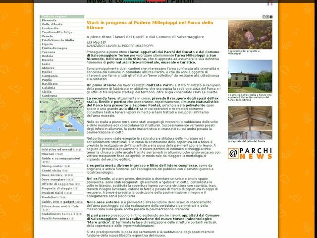 Ente Parchi e Biodiversità - Emilia Occidentale - Work in progress al Podere Millepioppi nel Parco dello Stirone