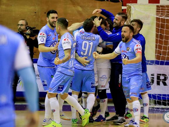 Coppa Italia C5 2019, Napoli e Pesaro in semifinale