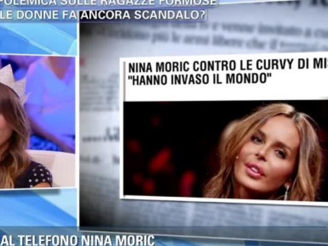 Nina Moric: la cicatrice, la magrezza e i drammi personali