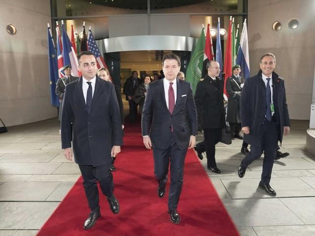 """Libia, Conte e Di Maio ora esultano. Salvini attacca: """"Italia assente"""""""
