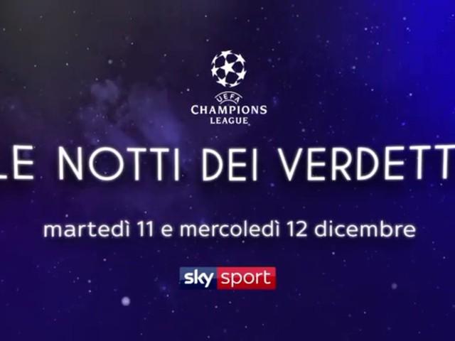 Sky Sport Champions 6a Giornata, Diretta Esclusiva | Palinsesto e Telecronisti