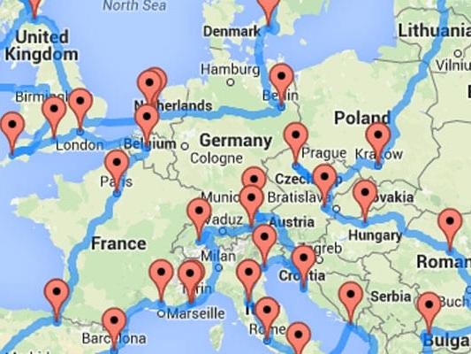 Il road trip perfetto per scoprire l'Europa