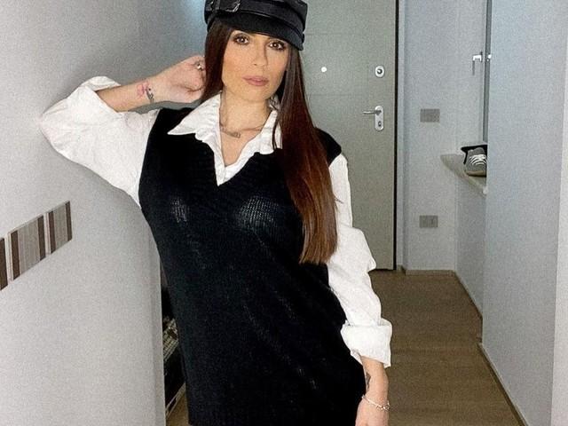 """SOCIAL / Alessia Macari, sensualità 'black & white' e quesito ai fan: """"Cosa vi rende felici?"""""""