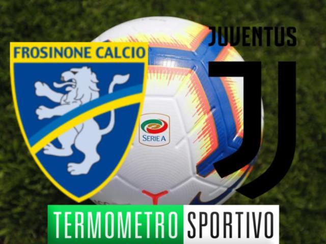 Dove vedere Frosinone-Juventus in diretta streaming o in TV