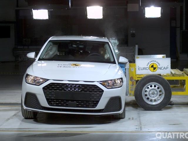 EuroNCAP - I crash test di sette nuovi modelli