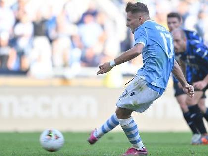 Serie A, Lazio-Atalanta da montagne russe: da 0-3 a 3-3 nel recupero. Immobile e Muriel mattatori