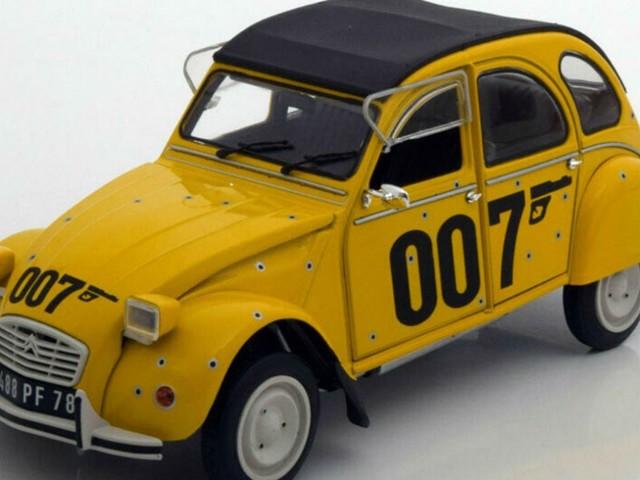 Dove poter vedere l'iconica Citroen di 007