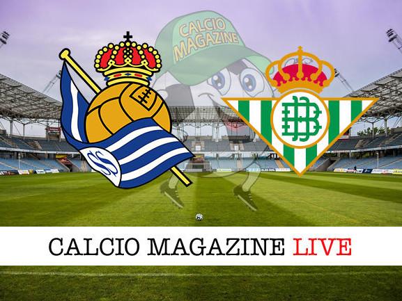 Real Sociedad – Betis: diretta live, risultato in tempo reale