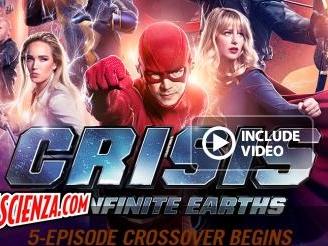Televisione: Crisis on Infinite Earths: comincia domenica la fine dei mondi DC sulla CW