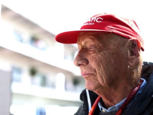 Lauda dimesso dall'ospedale di Vienna